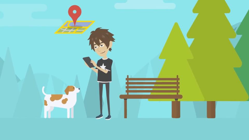 DEX App - Locate dog park